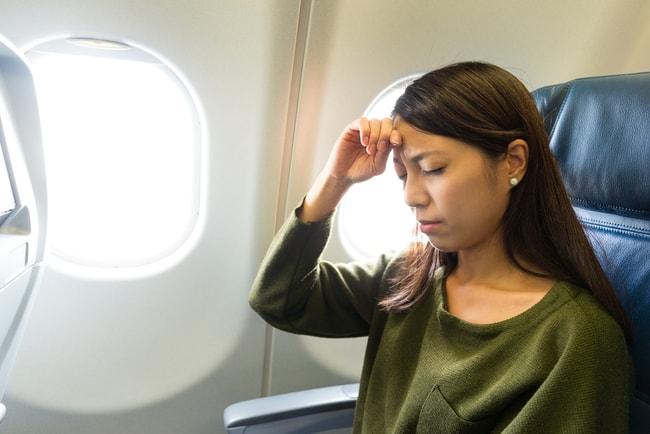 Who knows who sat in the plane seat before you?  © leungchopan/Shutterstock
