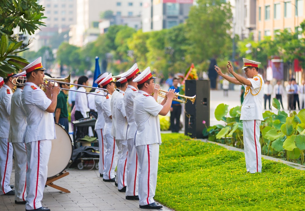 Band outside Ho Chi Minh's Mausoleum | © withGod/Shutterstock