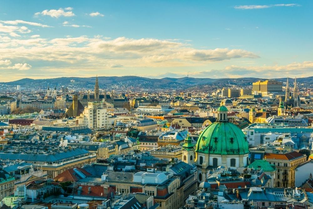 The Austrian capital Vienna is one of the best cities to live if you're young and broke | © trabantos / Shutterstock