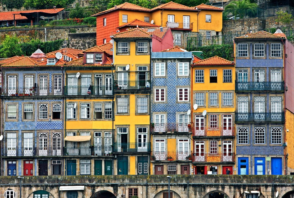 Facades at the Ribeira, Porto, Portugal | © Heracles Kritikos/Shutterstock