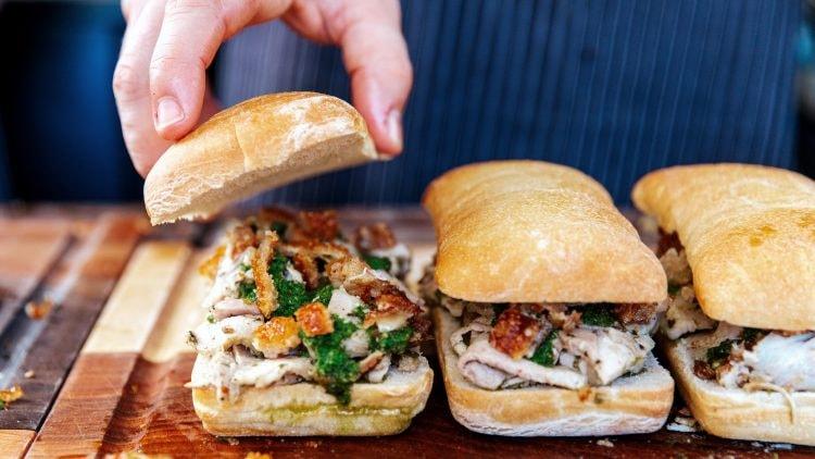 Signature Porchetta Sandwich | Courtesy of Meat & Bread