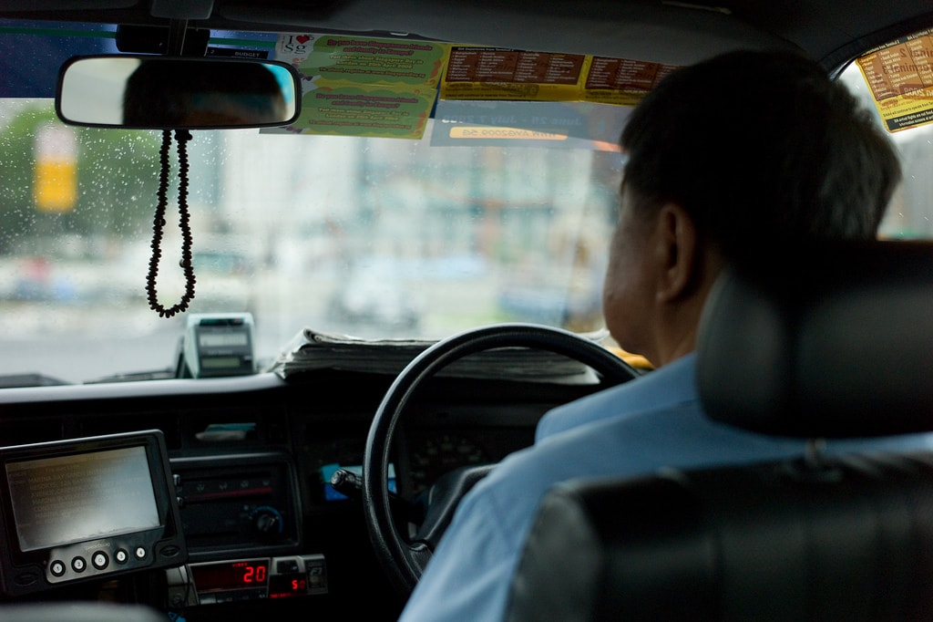 Singapore Taxi Driver KevinUtting