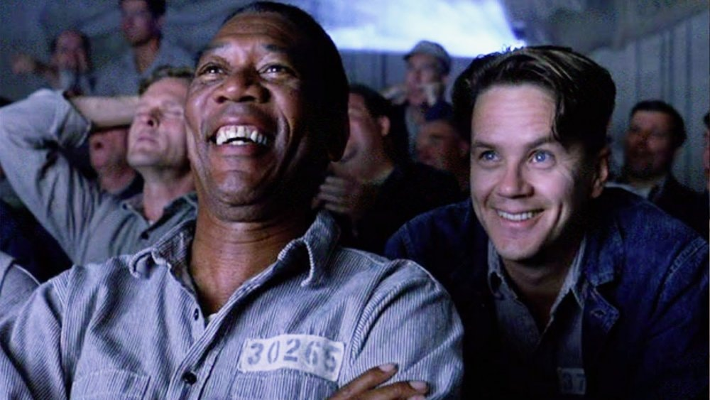 Morgan Freeman and Tim Robbins in <em>The Shawshank Redemption</em>   © Columbia Pictures