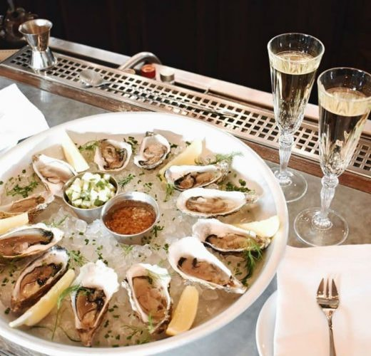 Chilled oysters on a warm day? Yes, please! | Courtesy of Stationen