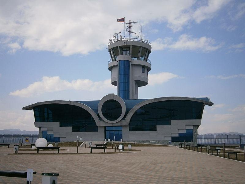 Stepanakert_Airport_Daytime
