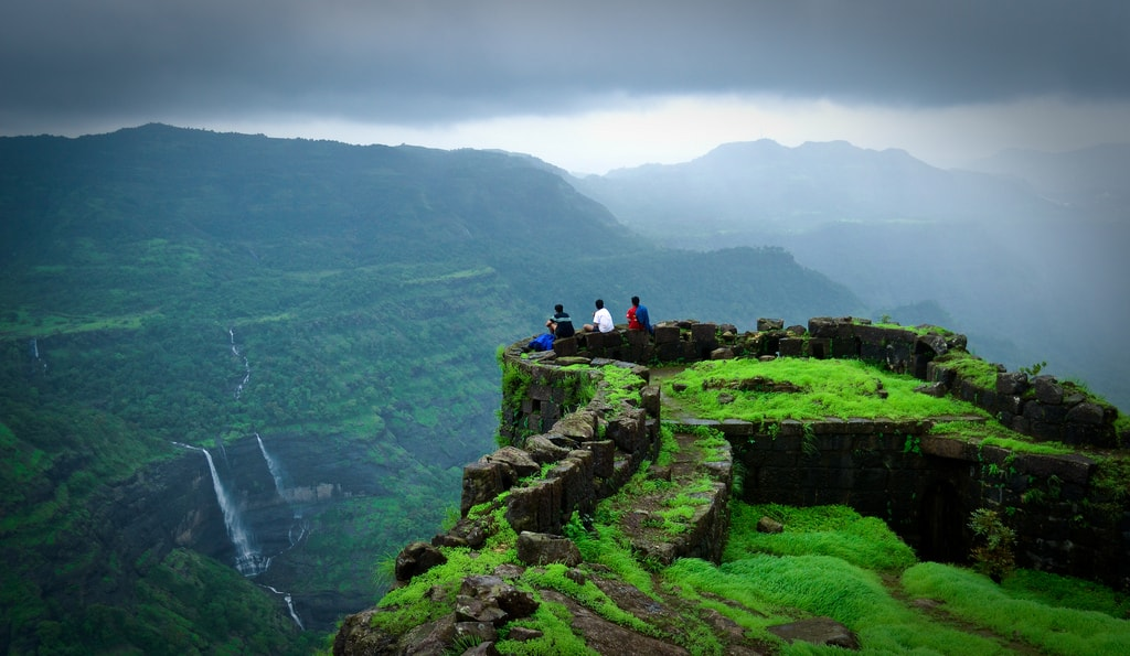 Stunning view from the Rajmachi Fort