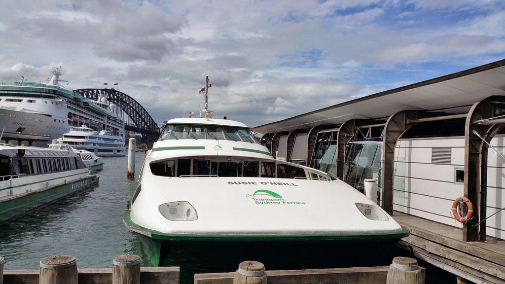 Susie O'Neill ferry | © Beau Giles/Flickr