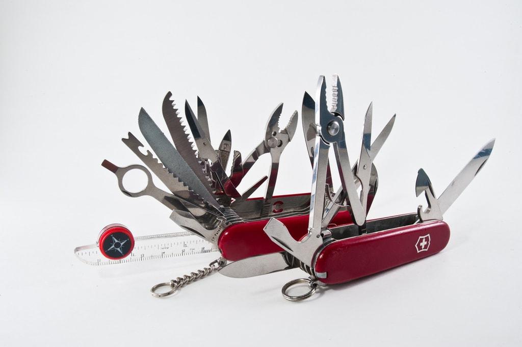 Swiss Army Knife Multipurpose Tool