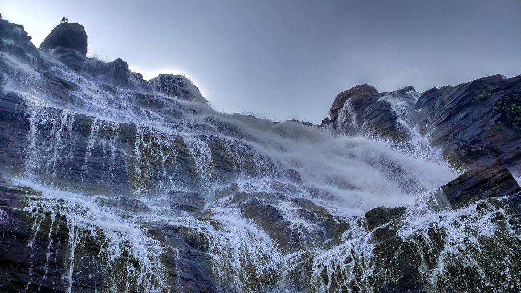 Teerathgarh Waterfalls