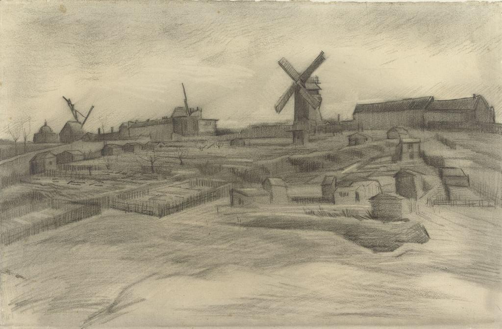 Tekening Van Gogh, Van Gogh Museum