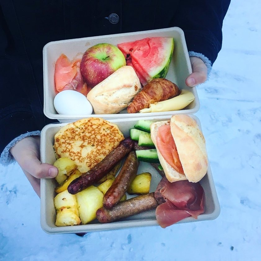 This is what can be saved from just one breakfast at a hotel | Courtesy of Too Good to Go