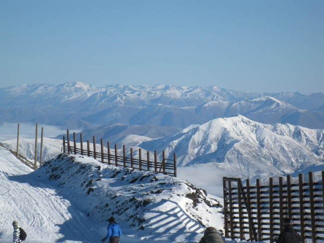 Top of Mt Hutt