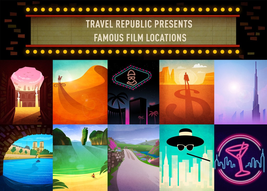Travel Republic Famous Films