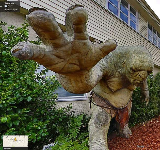 Troll at the Weta Cave
