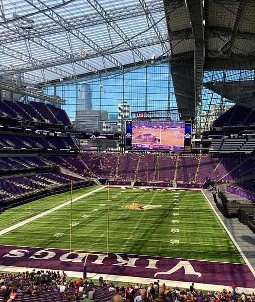 U.S. Bank Stadium Interior–Minnesota Vikings