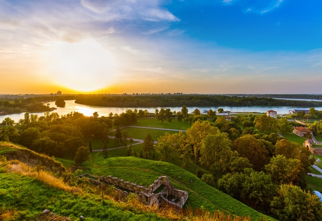 View from Kalemegdan | © Tatiana Popova