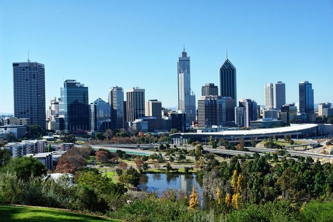 View of Perth from Kings Park | © Max Pixel