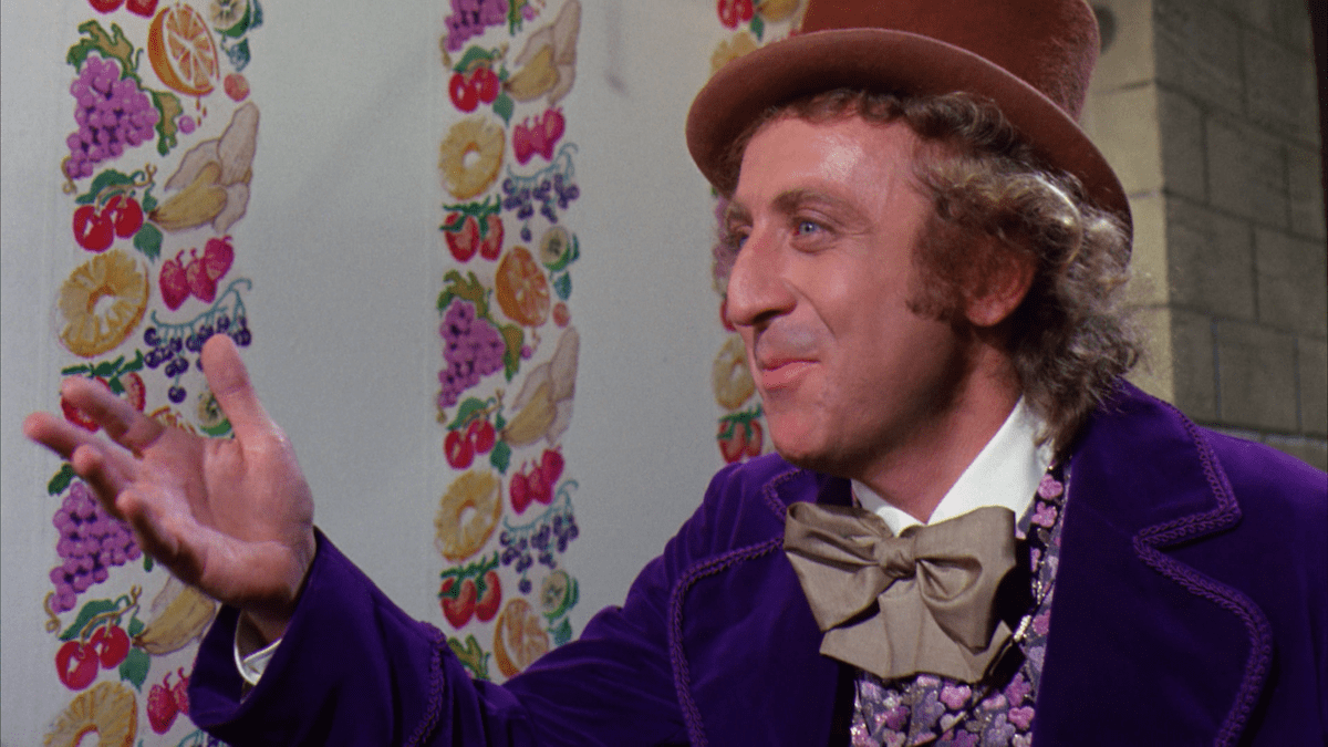 Gene Wilder in <em>Willy Wonka & the Chocolate Factory</em>   © Paramount Pictures