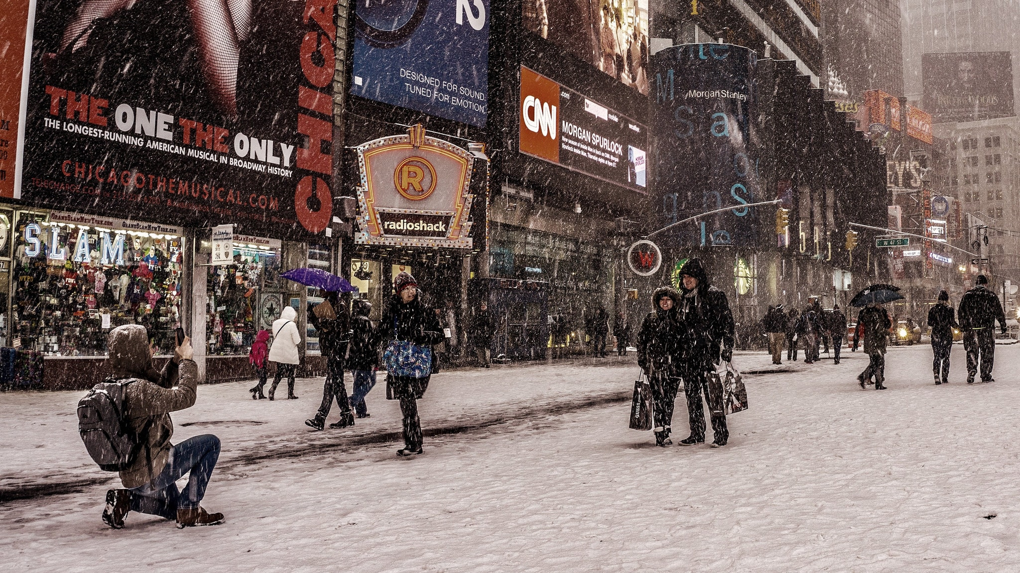 Wintertime tourists | Jeff Turner Flickr