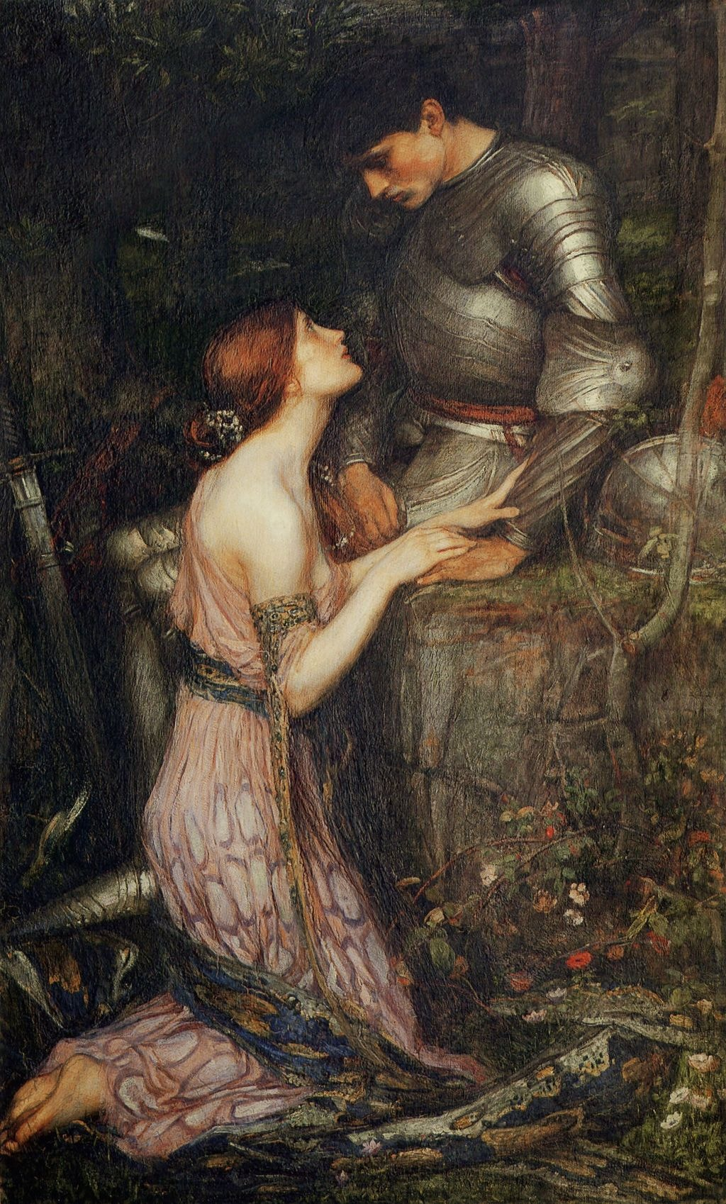 "John William Waterhouse, 'Lamia and the Soldier,' 1905 | <a href=""https://commons.wikimedia.org/wiki/File:Lamia_and_the_Soldier.jpg"" target=""_blank"" rel=""noopener"">© WikiCommons</a>"