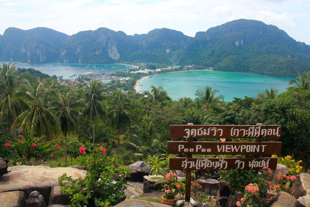 Koh Phi Phi lookout point