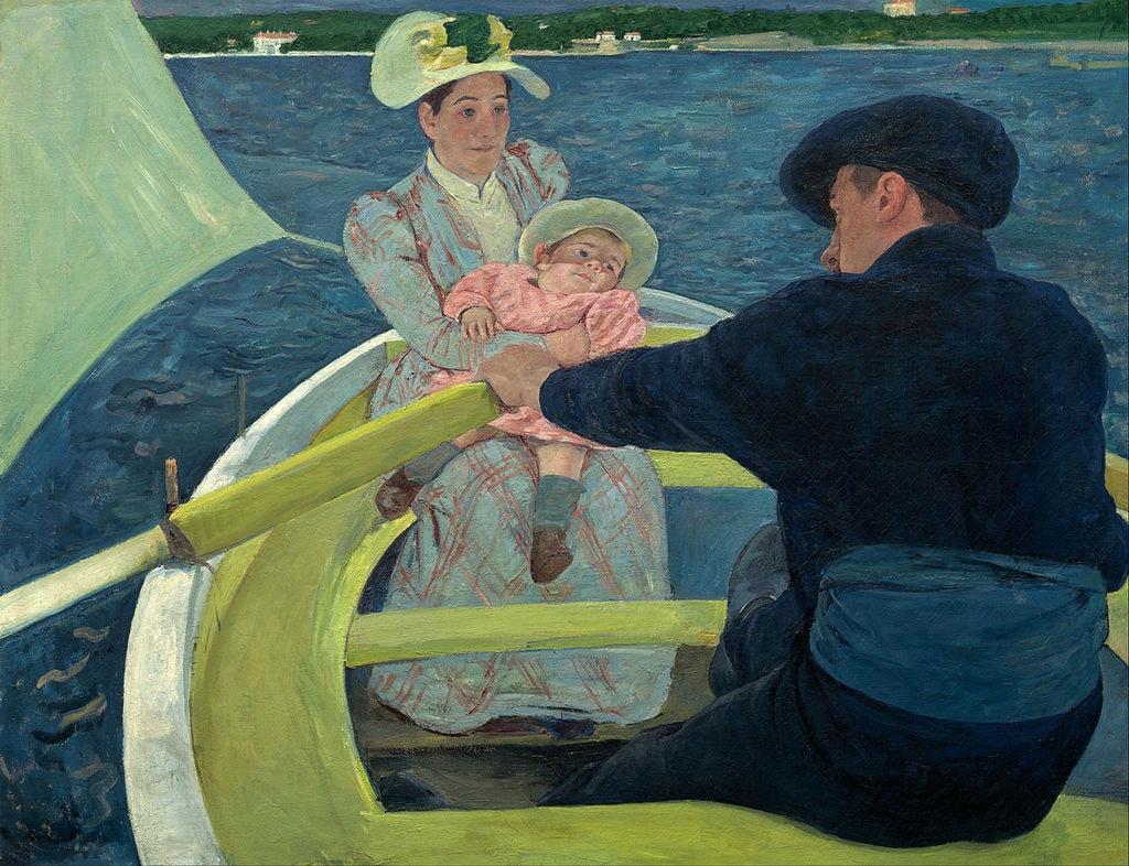 The Boating Party | © Mary Cassatt / WikiCommons