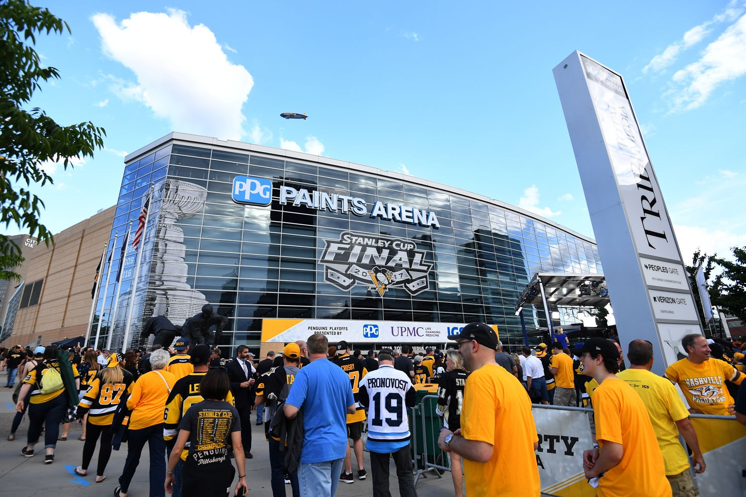 PPG Paints Arena   Courtesy of Pittsburgh Penguins/Joe Sargent