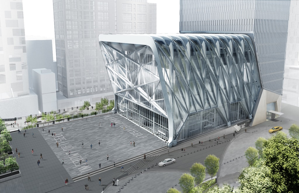 An innovative 200,000-square-foot structure designed by Diller Scofidio + Renfro in collaboration with Rockwell Group | Courtesy of Diller Scofidio + Renfro and Rockwell Group