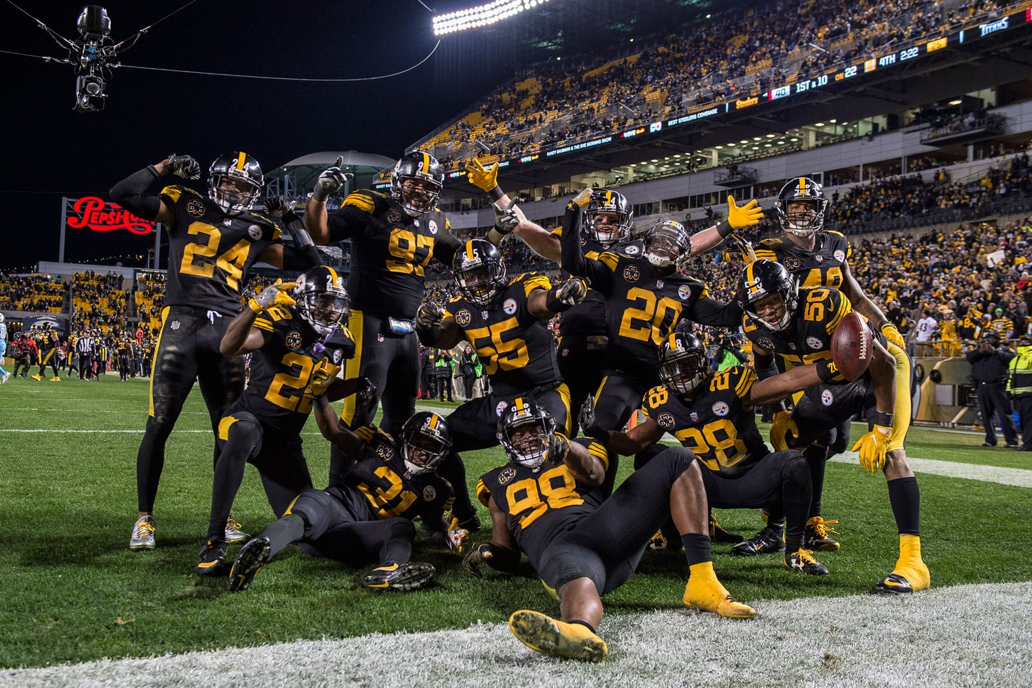 NFL Football in Pittsburgh   Courtesy of Pittsburgh Steelers/Dave Arrigo