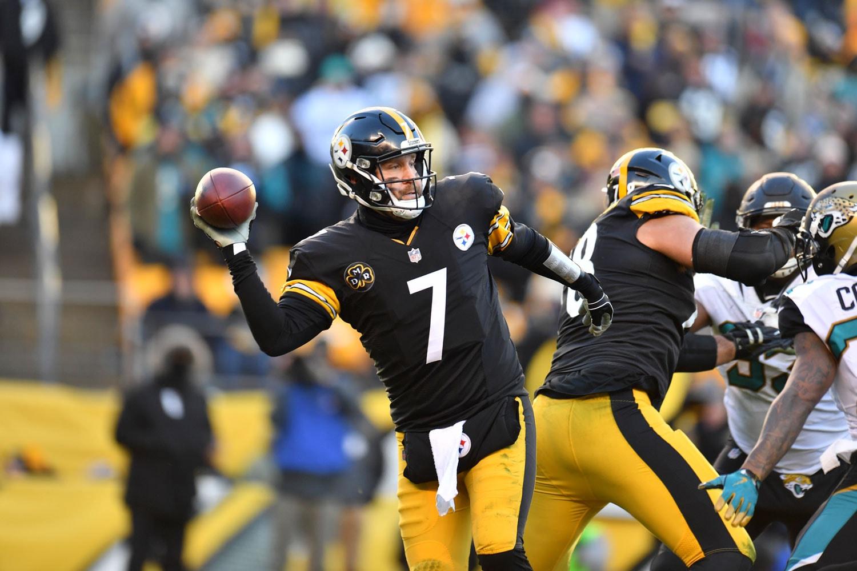 Ben Roethlisberger   Courtesy of Pittsburgh Steelers/Karl Roser