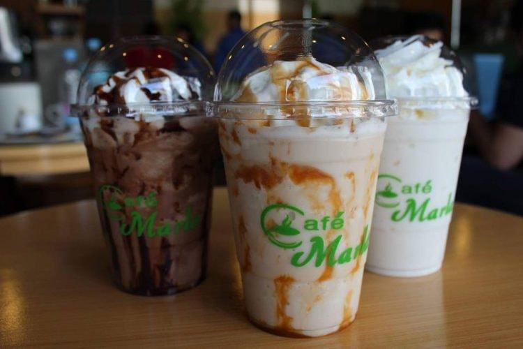 Iced Coffee Drinks | Courtesy of Café Marla