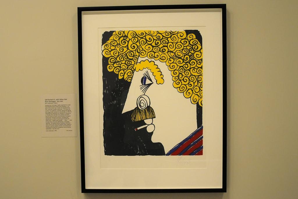 Kurt Vonnegut Self Portrait   © Son of Groucho/Flickr