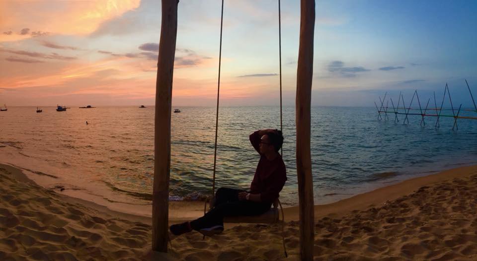 Glorious sunset | © Golden Sand Bar/Facebook