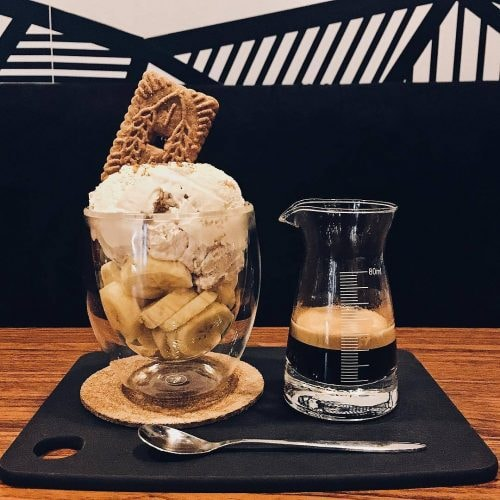Cookie Butter Affogato | Image Courtesy of Firefly Coffee