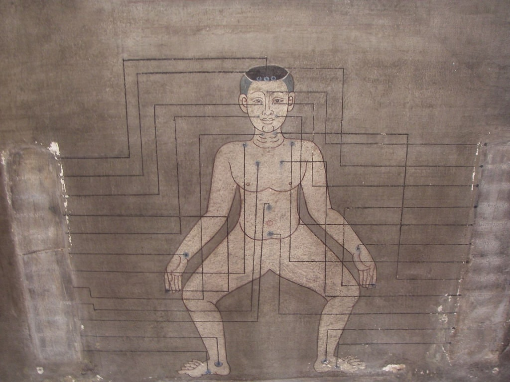 Thai massage image