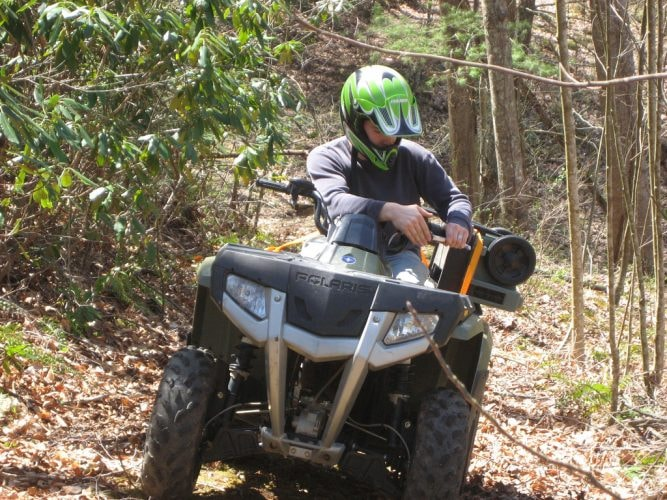 Hit the ATV trails at Carabali Rainforest Park