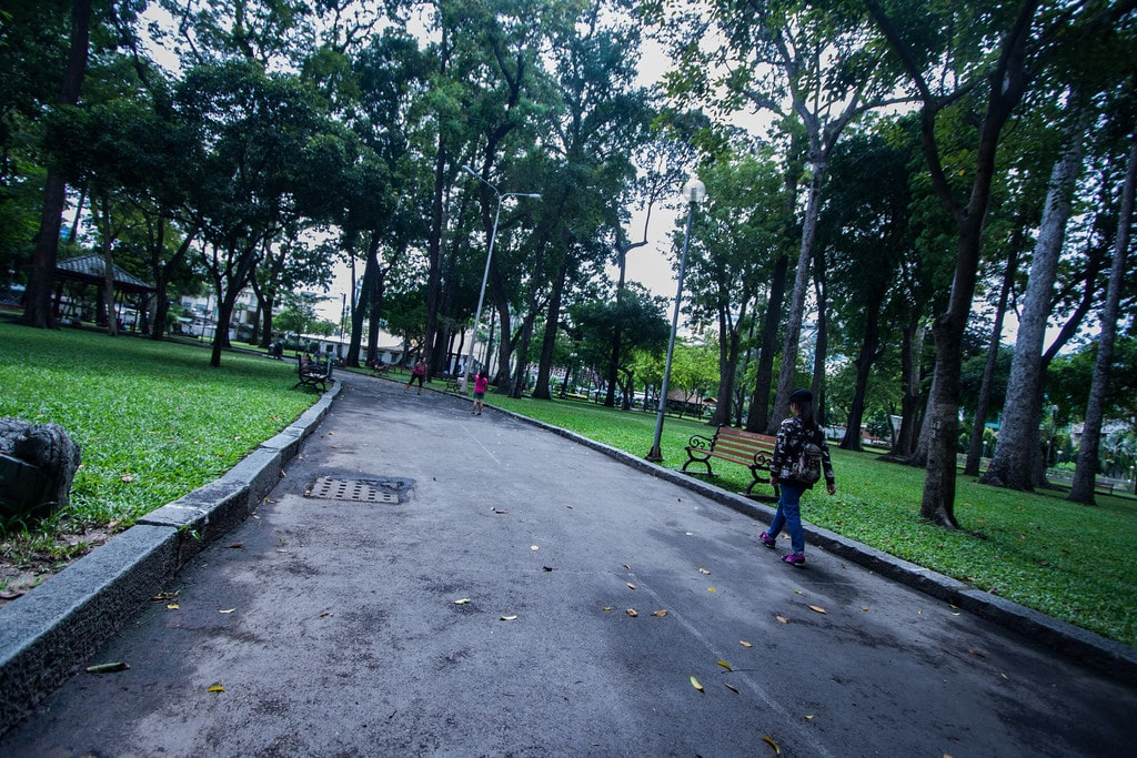 Park in HCMC | © wcowperthwaite/Flickr