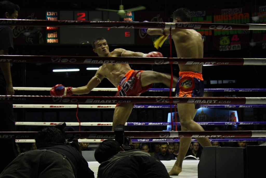Boxing at Lumpinee Stadium