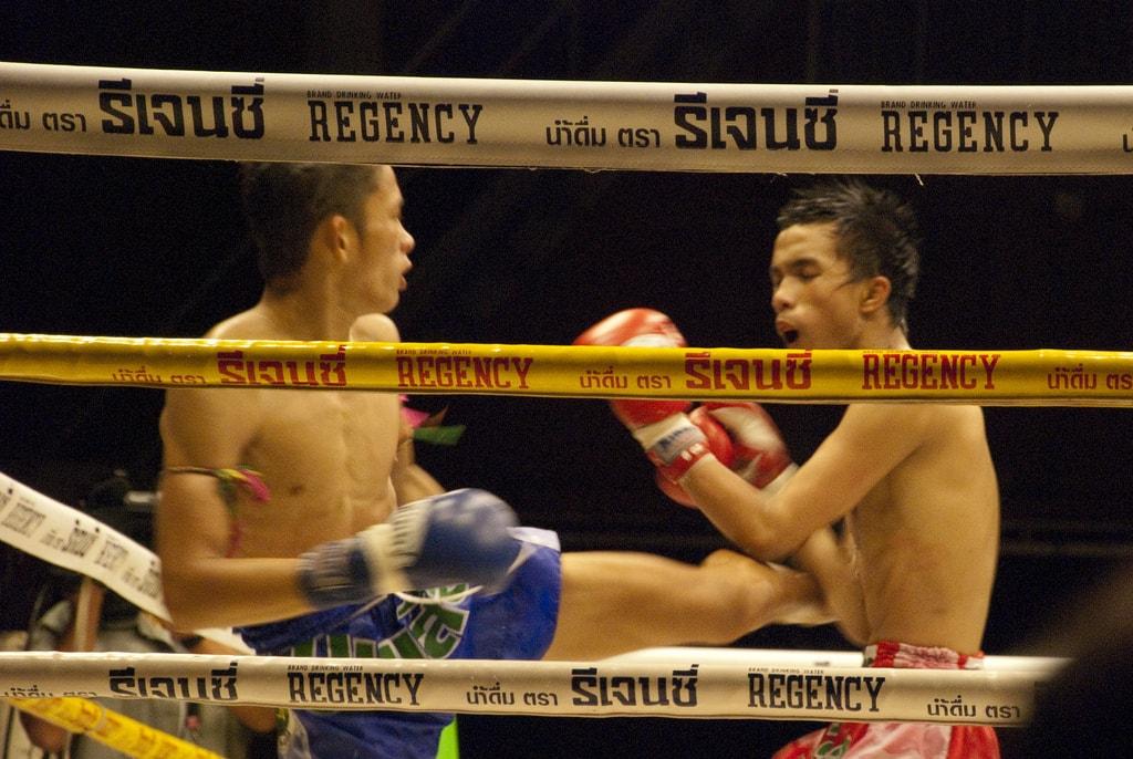 Thai boxing match