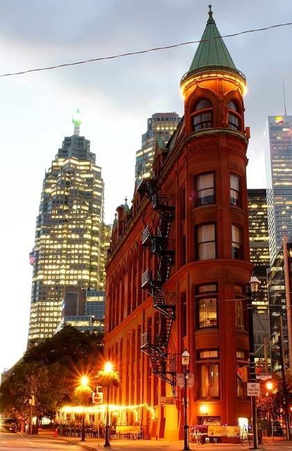 The Gooderham Building | © Jamie Hedworth/Tourism Toronto