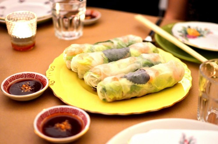Fragrant Spring rolls © ollie harridge
