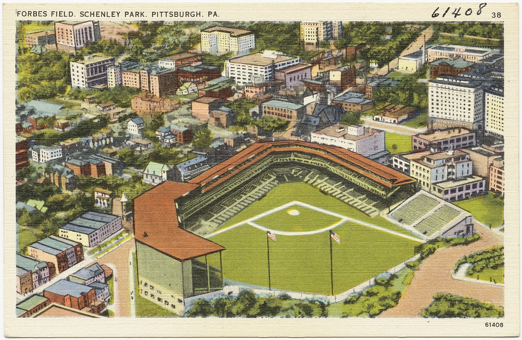 Forbes Field | © Boston Public Library / Flickr