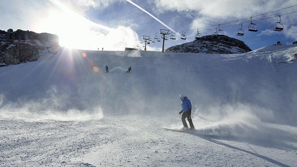 Skiing at Cortina d'Ampezzo | © Courtesy of Manuel Bierbauer/Flickr