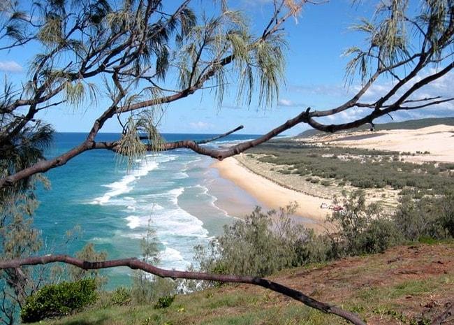 75 Mile Beach on Fraser Island | © Stuart Edwards/Wikimedia Commons