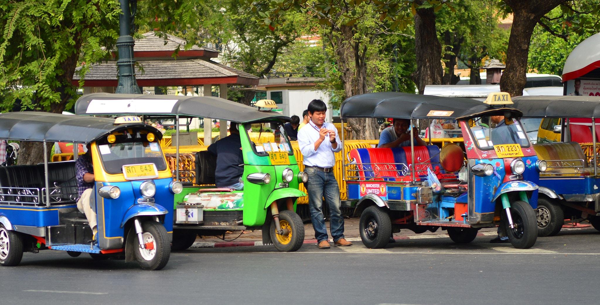 Thai tuk tuks