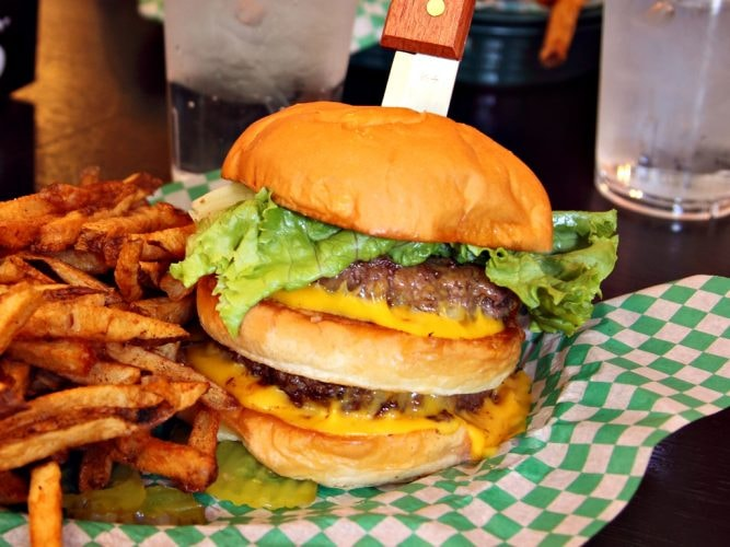 The Nookie Supreme Burger with Fresh-Cut Fries   © Jerry Huddleston/Flickr