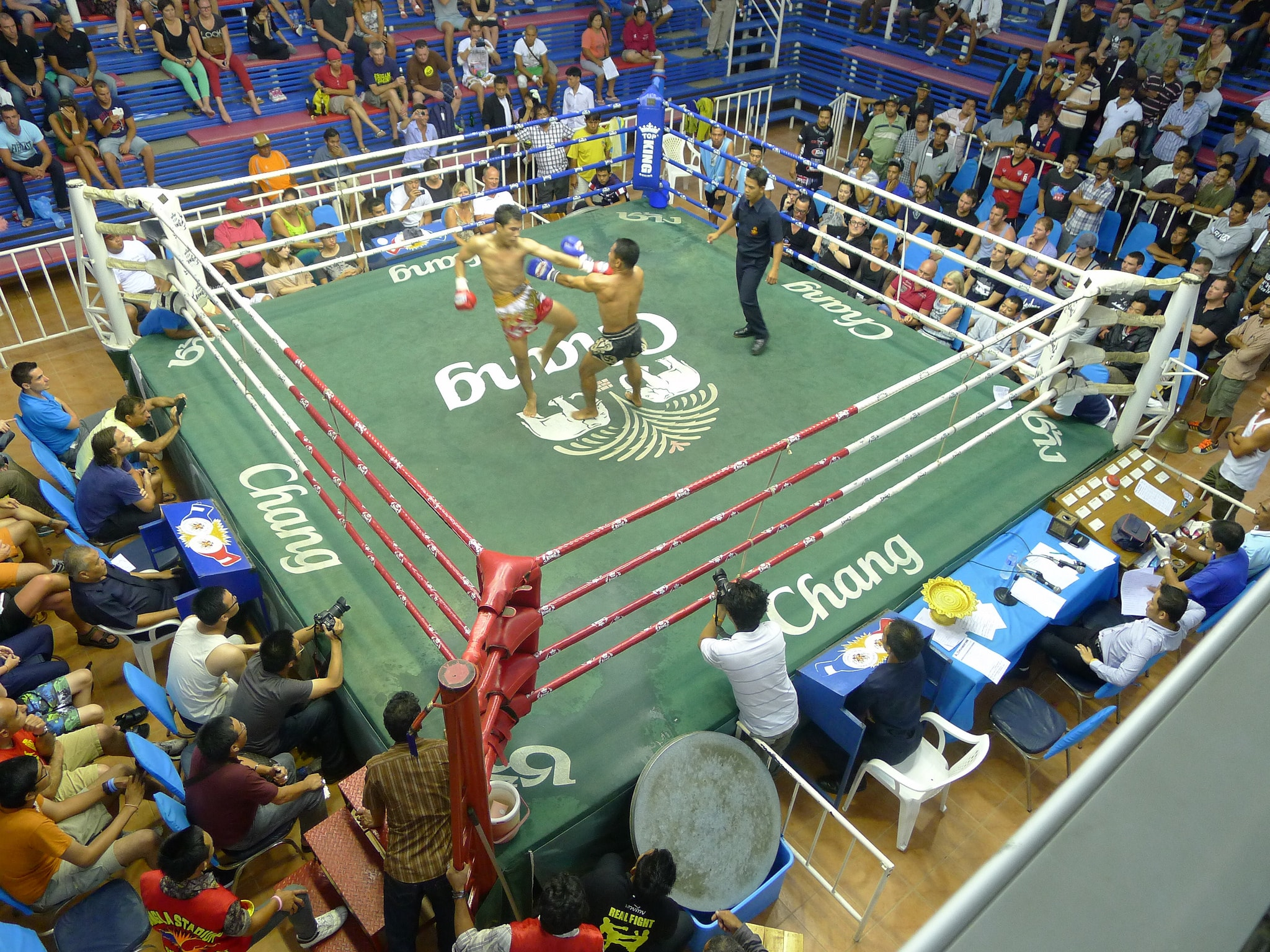 Thai boxing ring