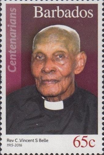 Barbados 4 - Rev C. Vincent S Belle