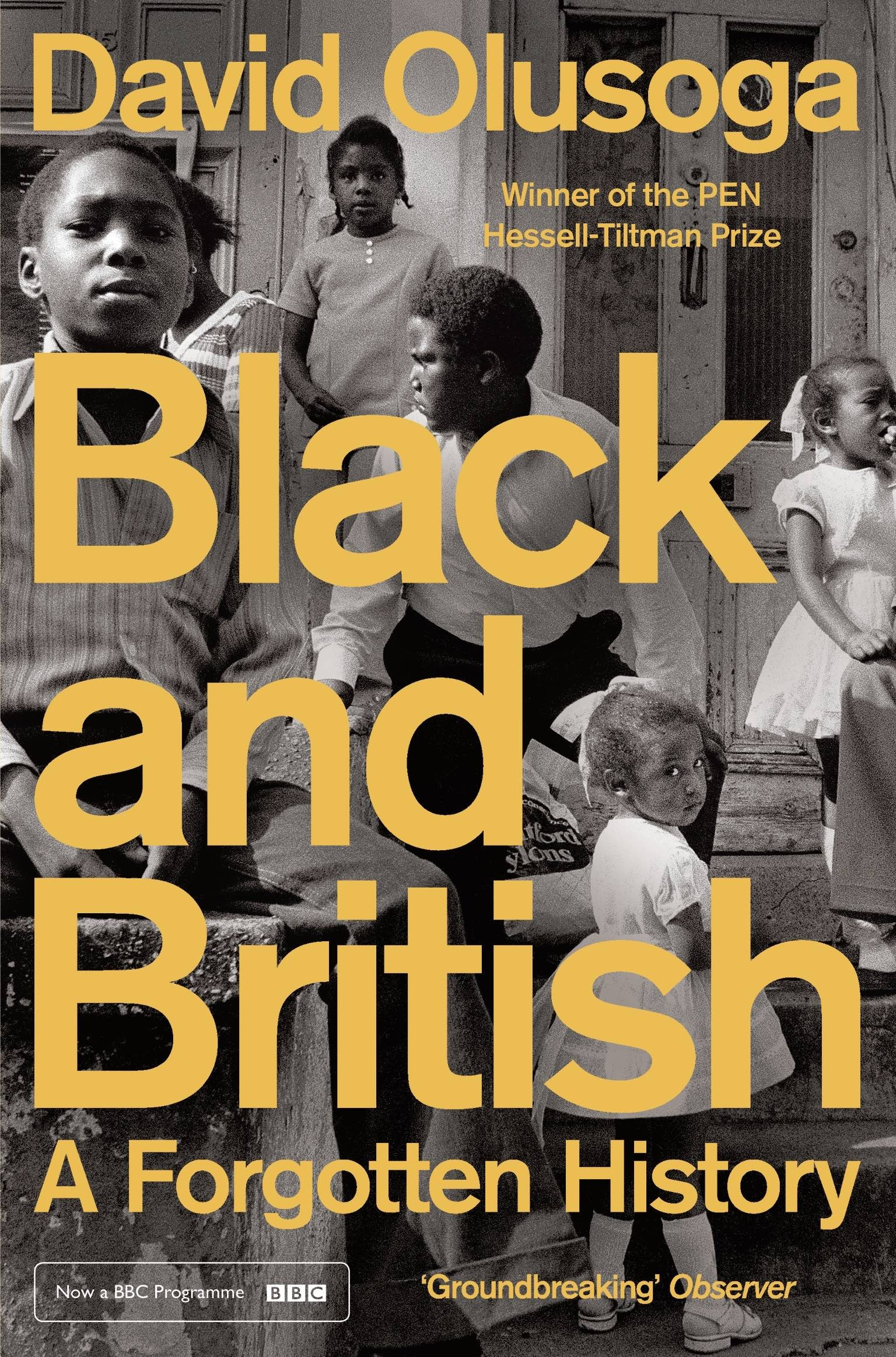 Black and British David Olusoga
