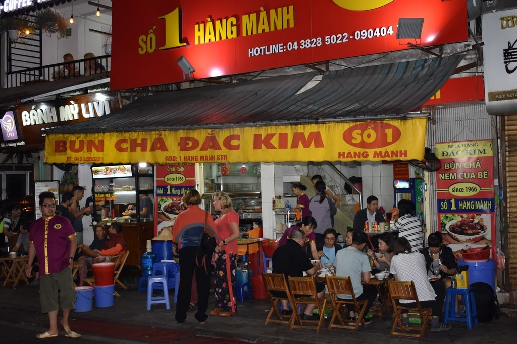 Home of some delicious Bún chả | © Matthew Pike